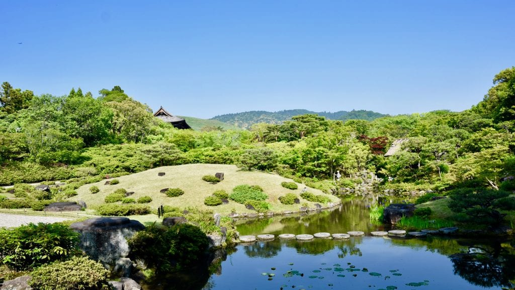 Isuien Garden in Kyoto should be on your 3 day Kyoto Itinerary.