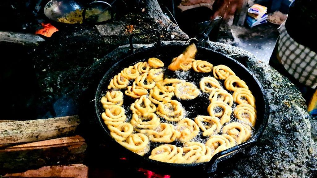 Jilapi Preparation in Bangladesh