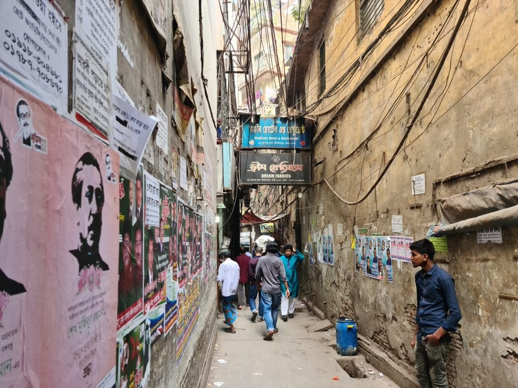 Narrow Street of Old Dhaka
