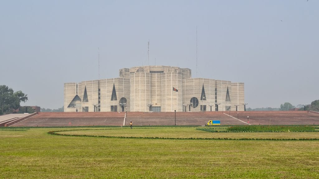 National Parliament of Bangladesh - Places to visit in Dhaka