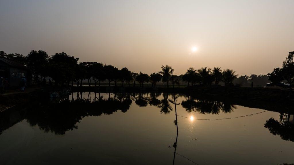 Pond in Birishiri