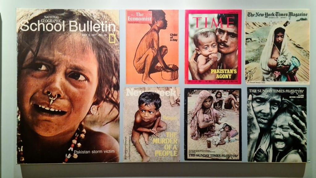 Poster inside Bangladesh Liberation War Museum