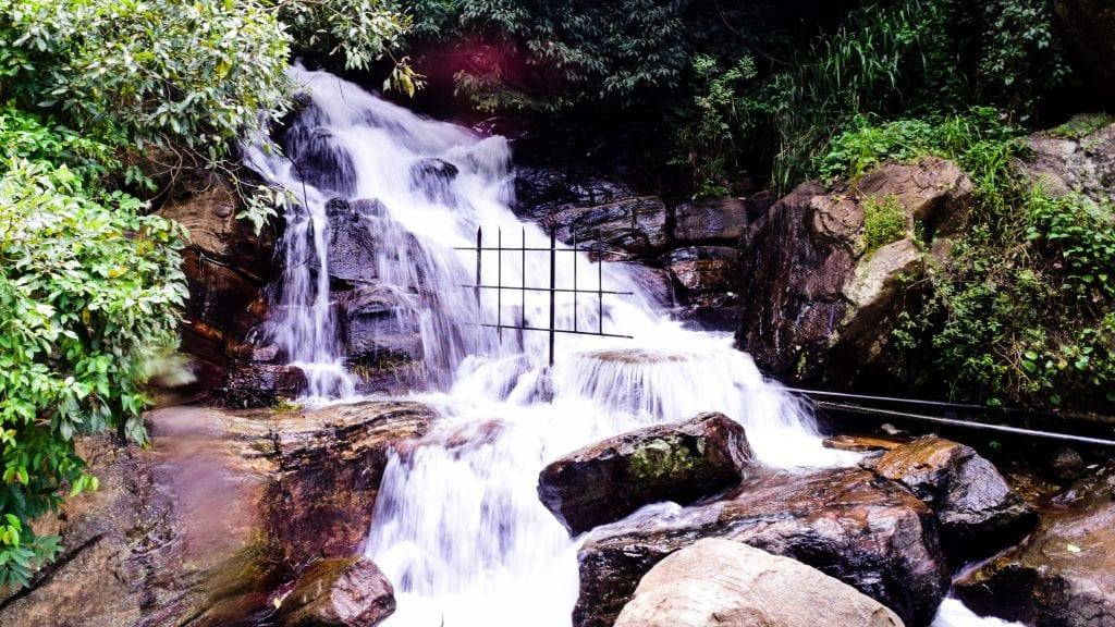 Ravana Fall in Ella, Sri Lanka