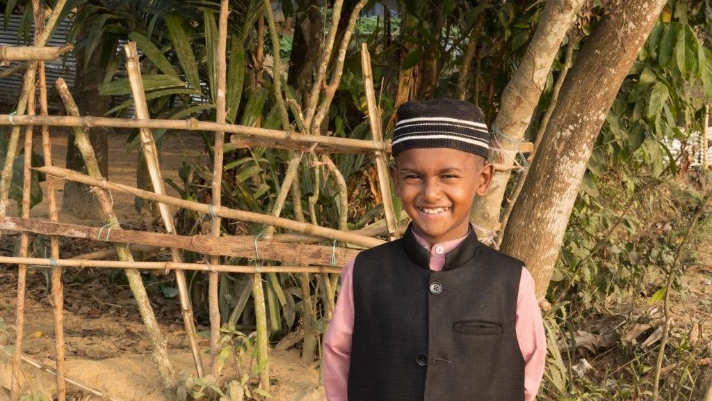 Smiling Kid in Bangladesh