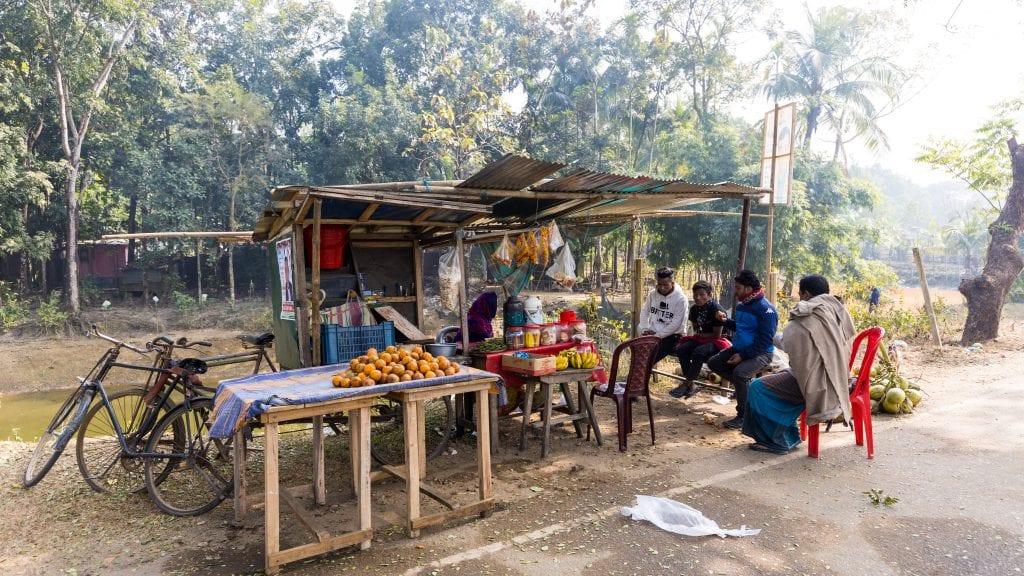 Street Shop in Birishiri
