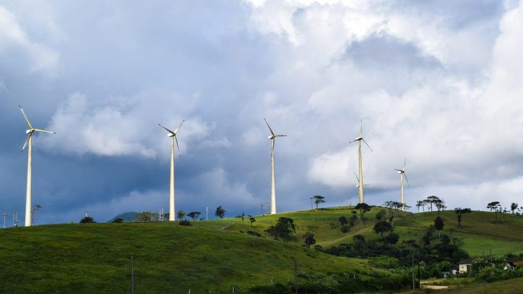 Ambewela Wind Power in Sri Lanka