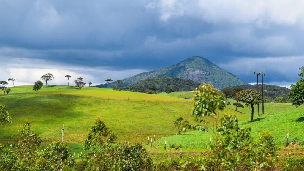 Beautiful Countryside in Sri Lanka - Ambewela