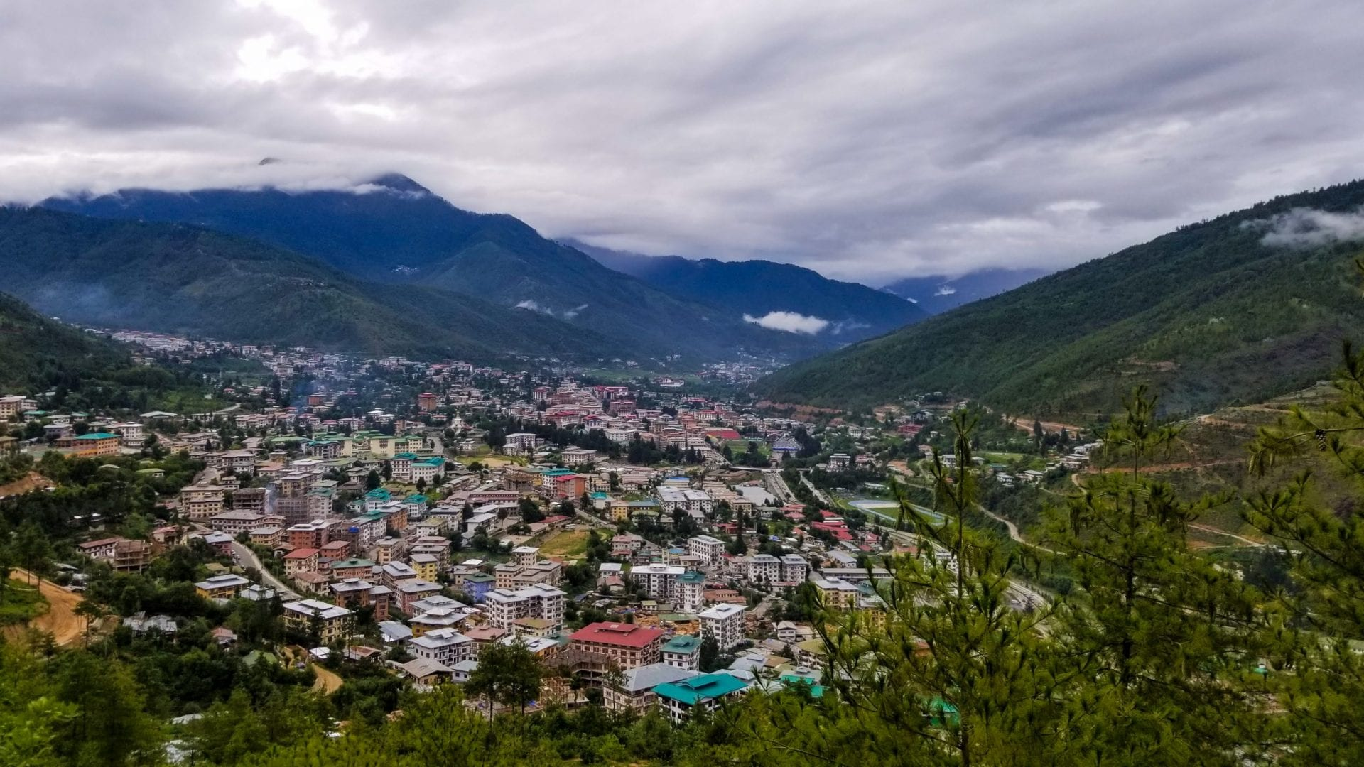Beautiful Thimphu