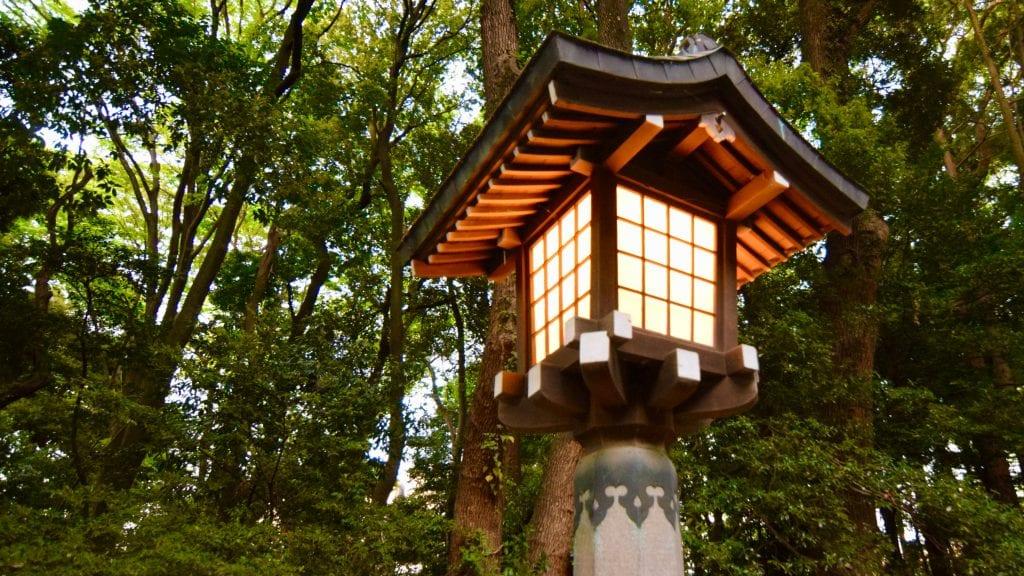 Lamp Post near Meiji Jingu