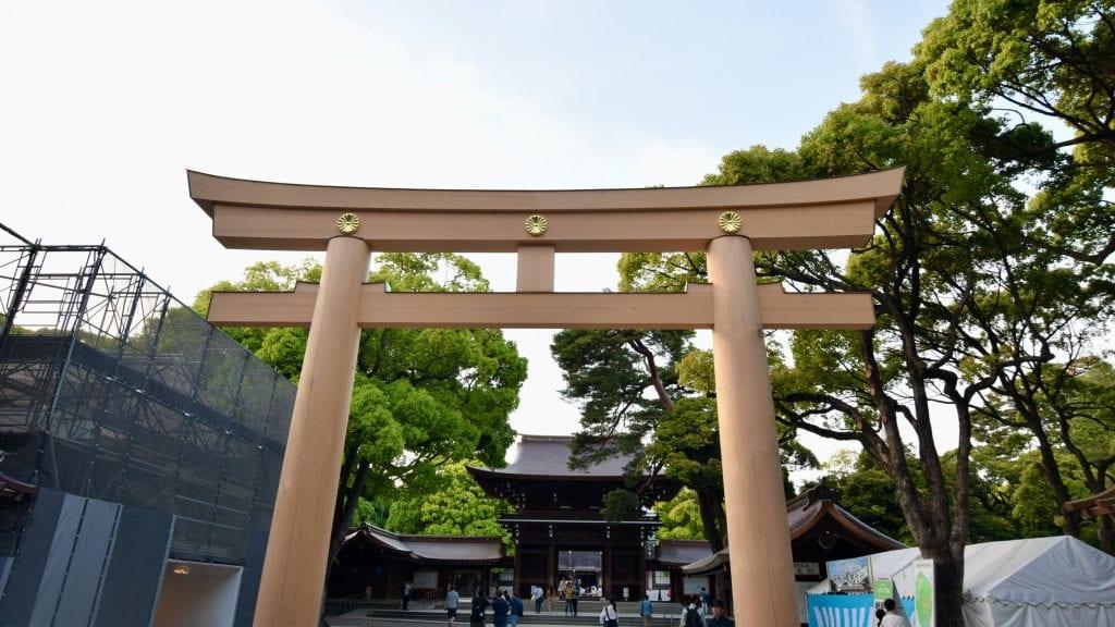 Meiji Jingu Torii Gate