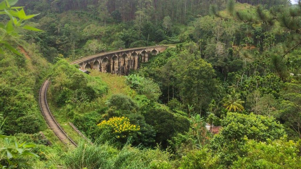 Nine Arch Bridge in Demodara, Sri Lanka