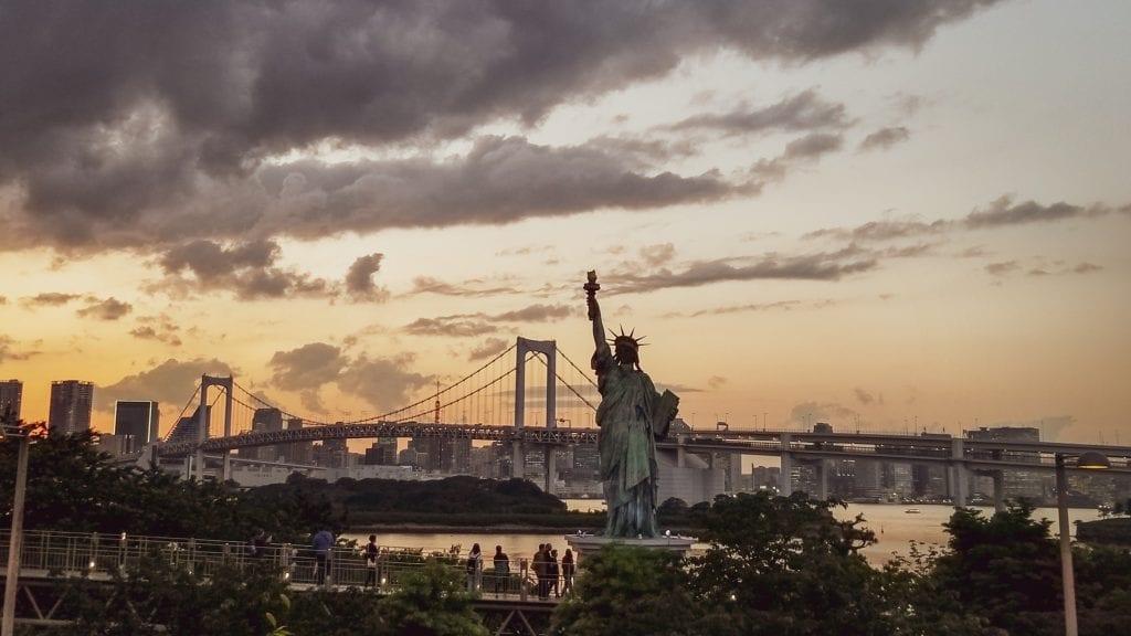 Odaiba Statue of Liberty - 4 Days Tokyo Itinerary