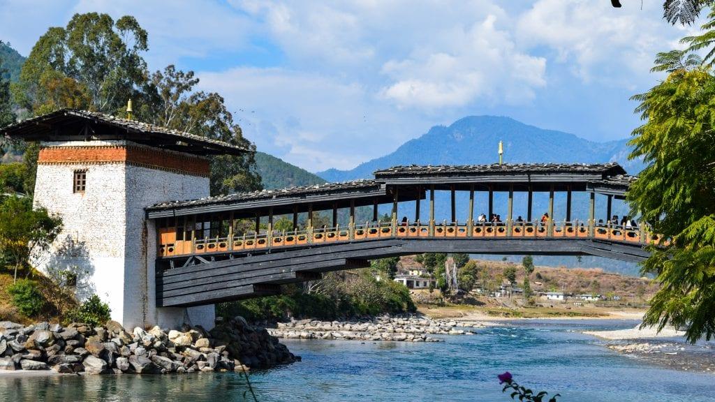 Bridge of Punakha Dzong