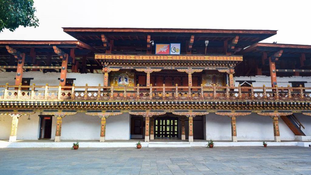 Punakha Dzong Compound of Bhutan