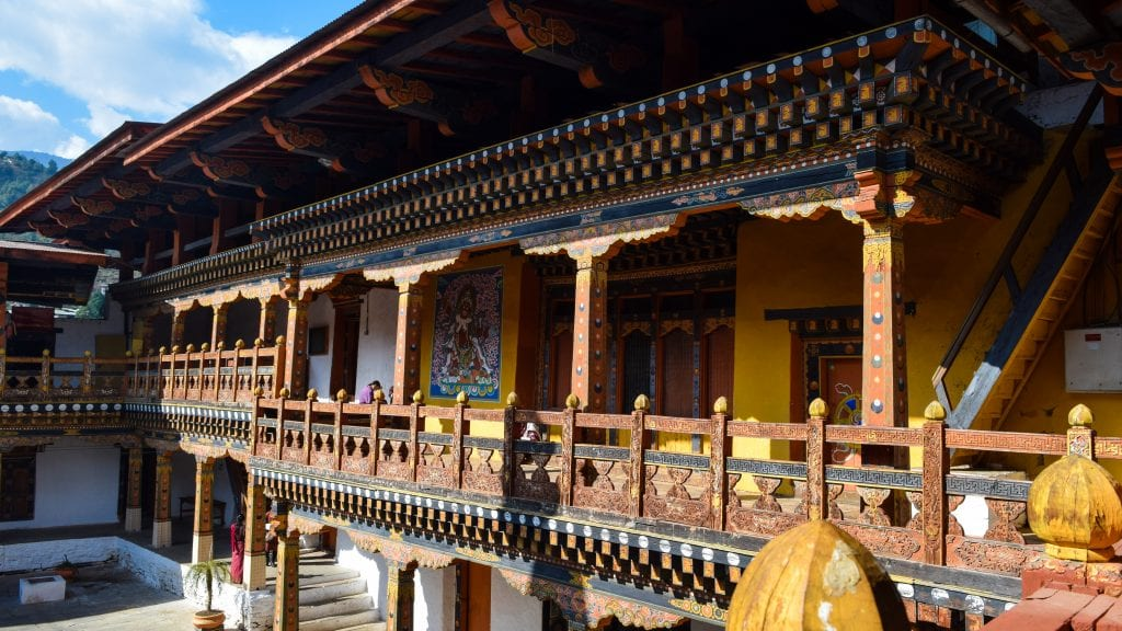 Inner Complex of Punakha Dzong