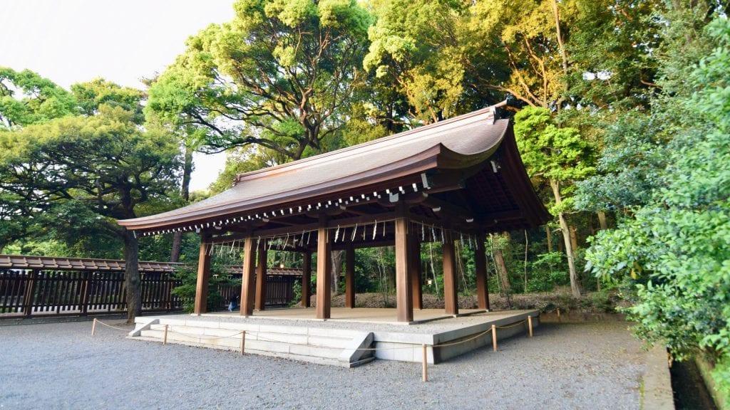 Structure in Meiji Jingu
