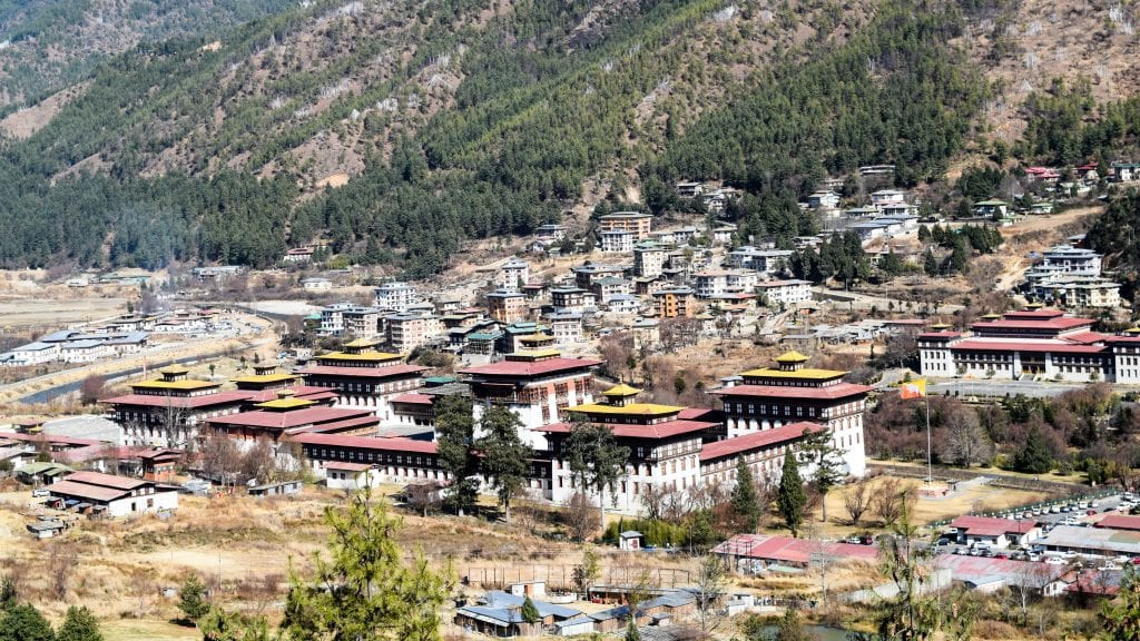 Tashichho Dzong - Places to visit in Thimphu