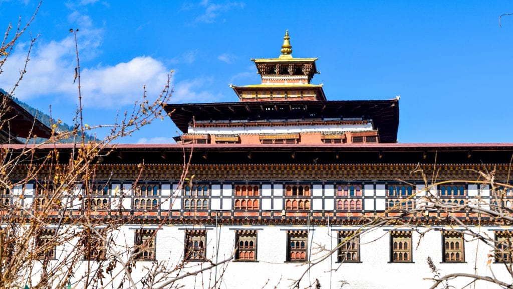 Tashichho Dzong in Thimphu - Places to go in Thimphu