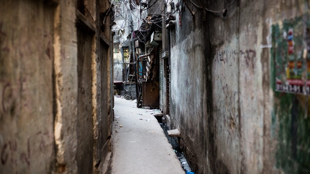 Alley in Old Dhaka