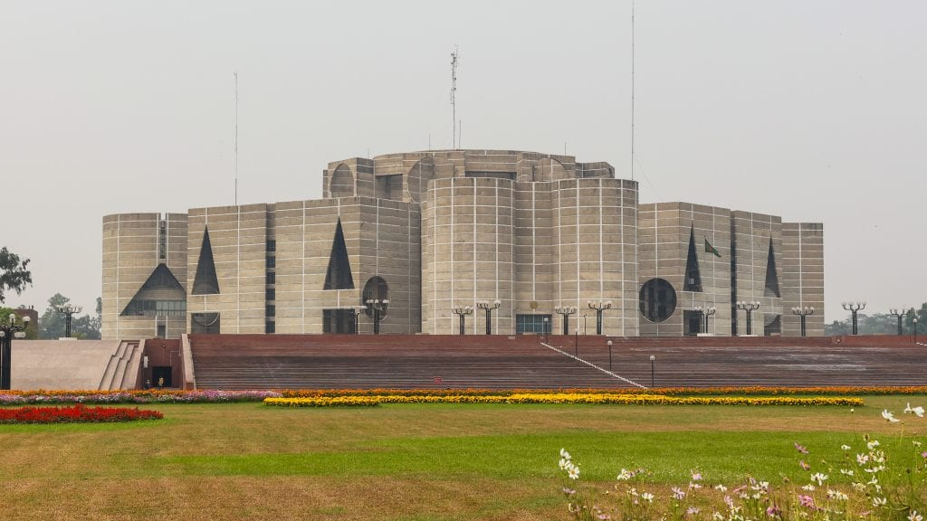 Bangladesh National Parliament - places to visit in Dhaka
