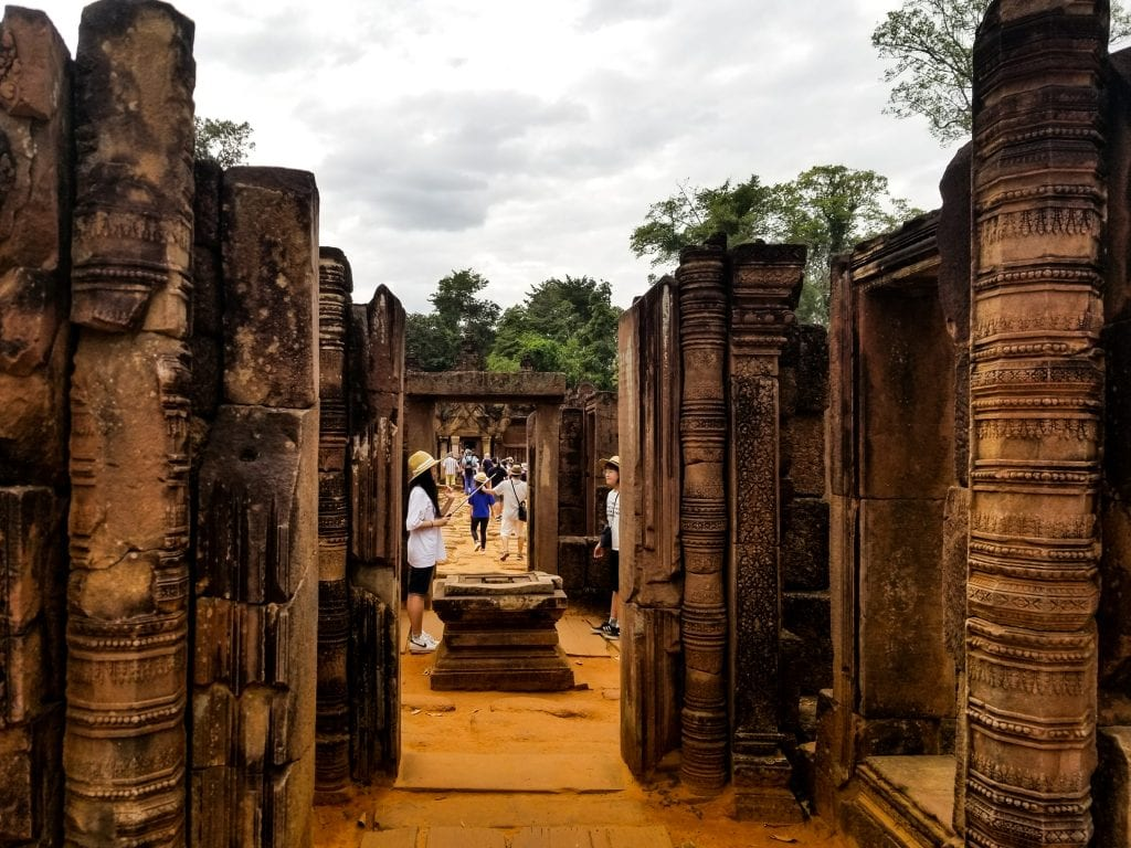 Banteay Srei in Siem Reap, Cambodia
