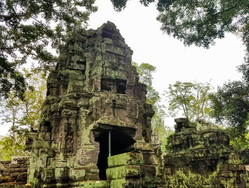 Big Sculpture of Ta Prohm - Temples in Siem Reap
