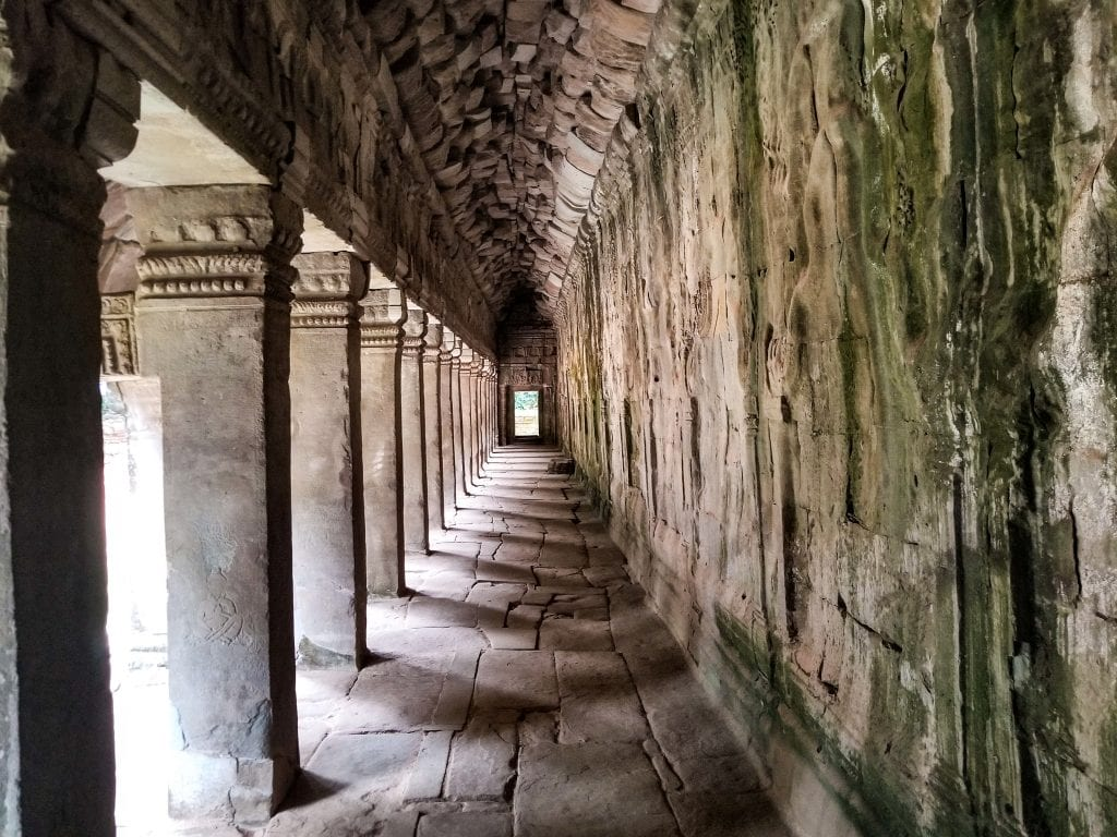 Corridor of Ta Prohm