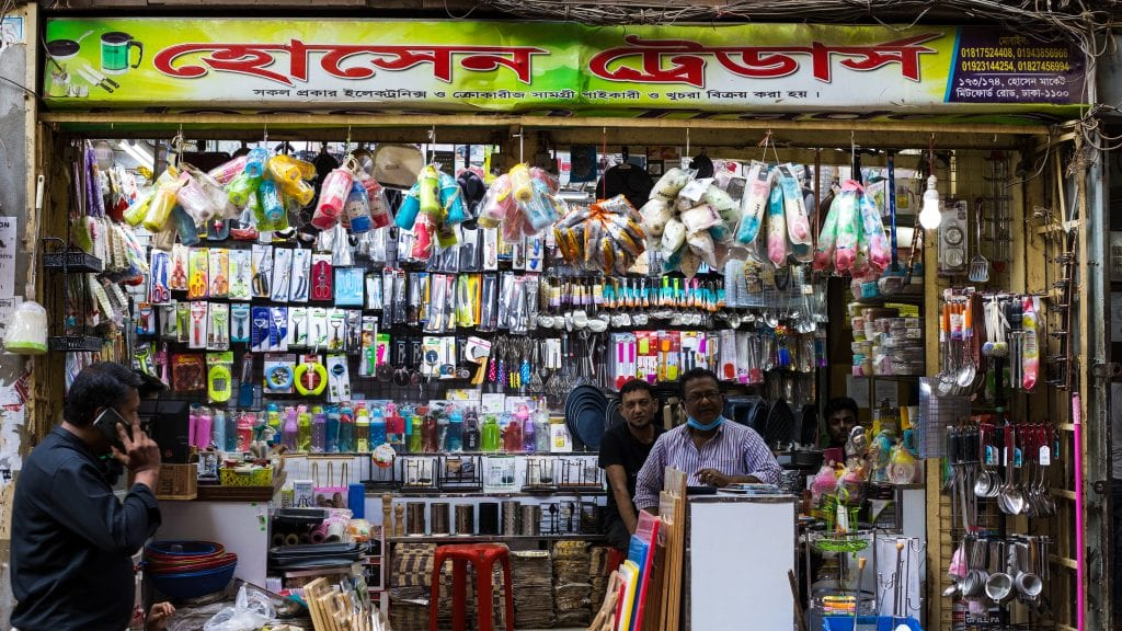 Electronics Shop in Old Dhaka