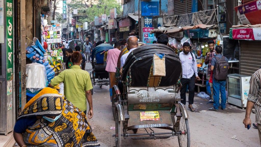 Entering Old Dhaka