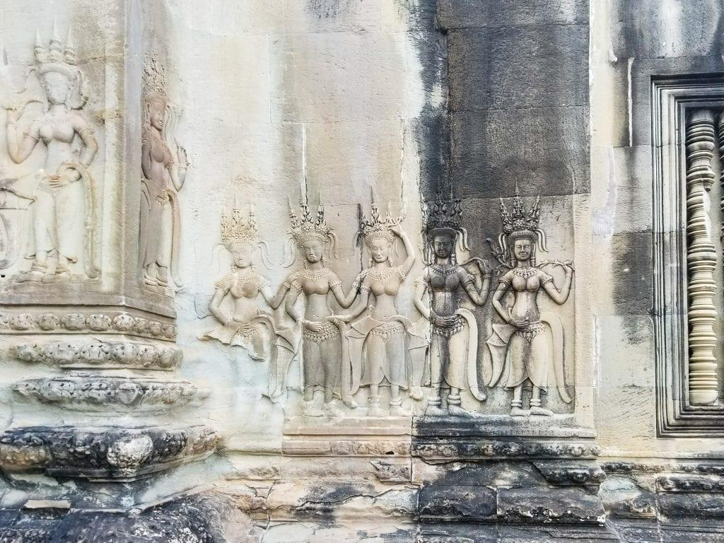 Angkor Wat Fresco