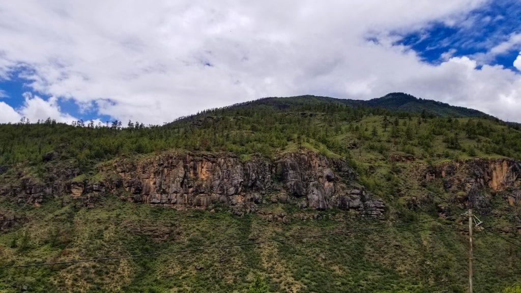 A Grand Mountain in Bhutan