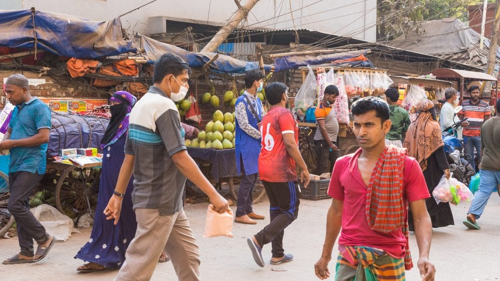 Humans in Old Dhaka