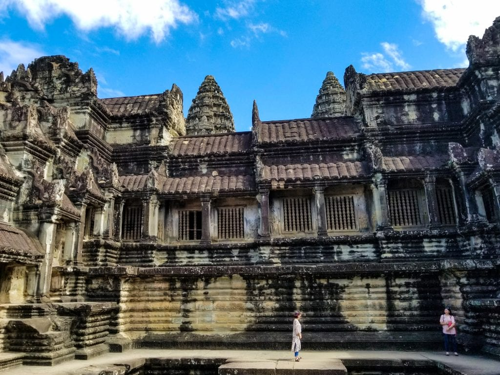 Inside the Ruins of Angkor Wat