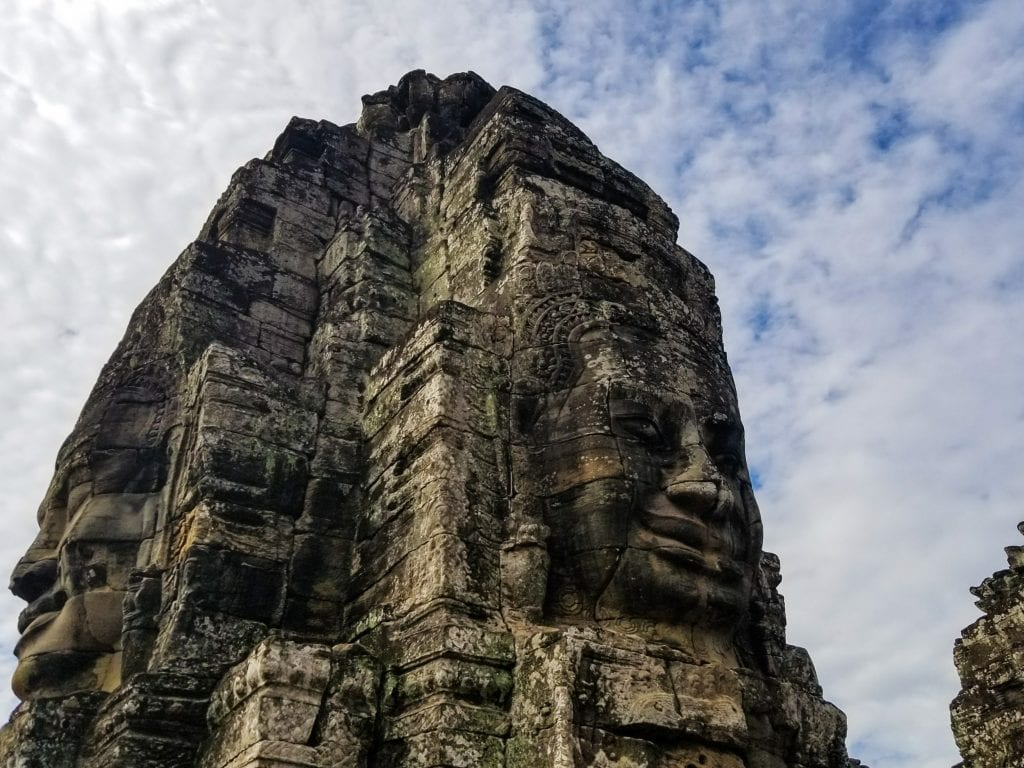 Multiple Big Faces in Bayon Temple