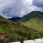 Paro Thimphu Highway in Bhutan