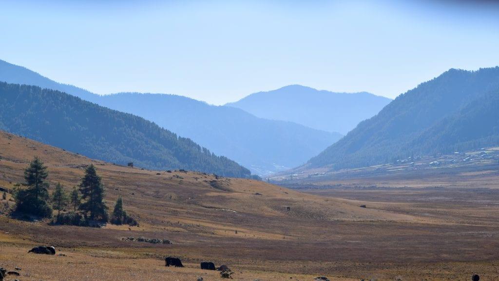 Phobjikha Valley in Bhutan