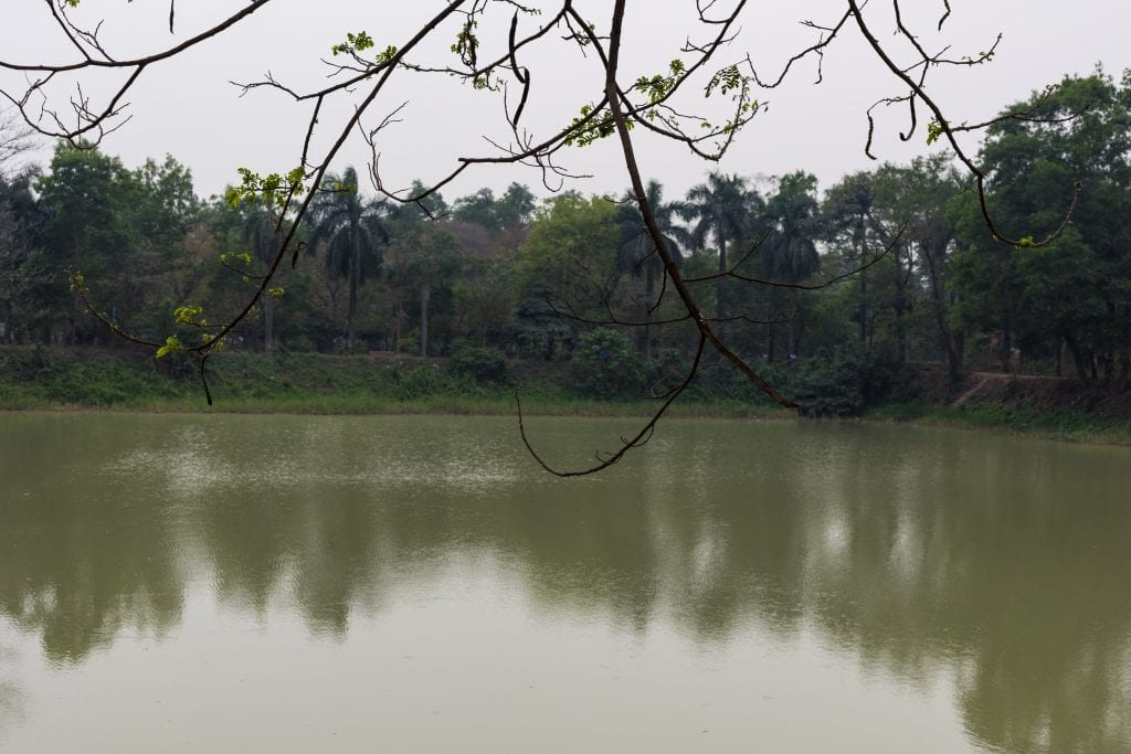 Pond in Chandrima Uddan