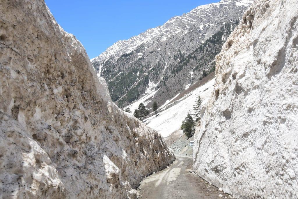 Road to Pahalgam