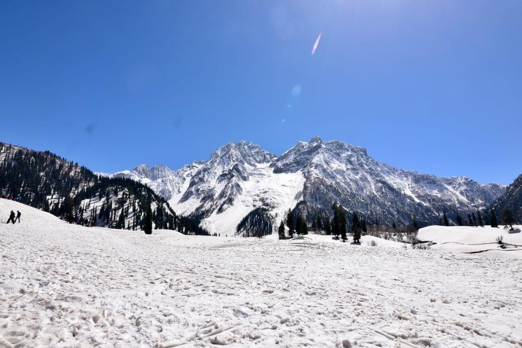 Snowy Sonamarg in Kashmir