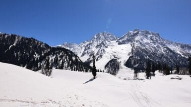 Sonamarg in Winter