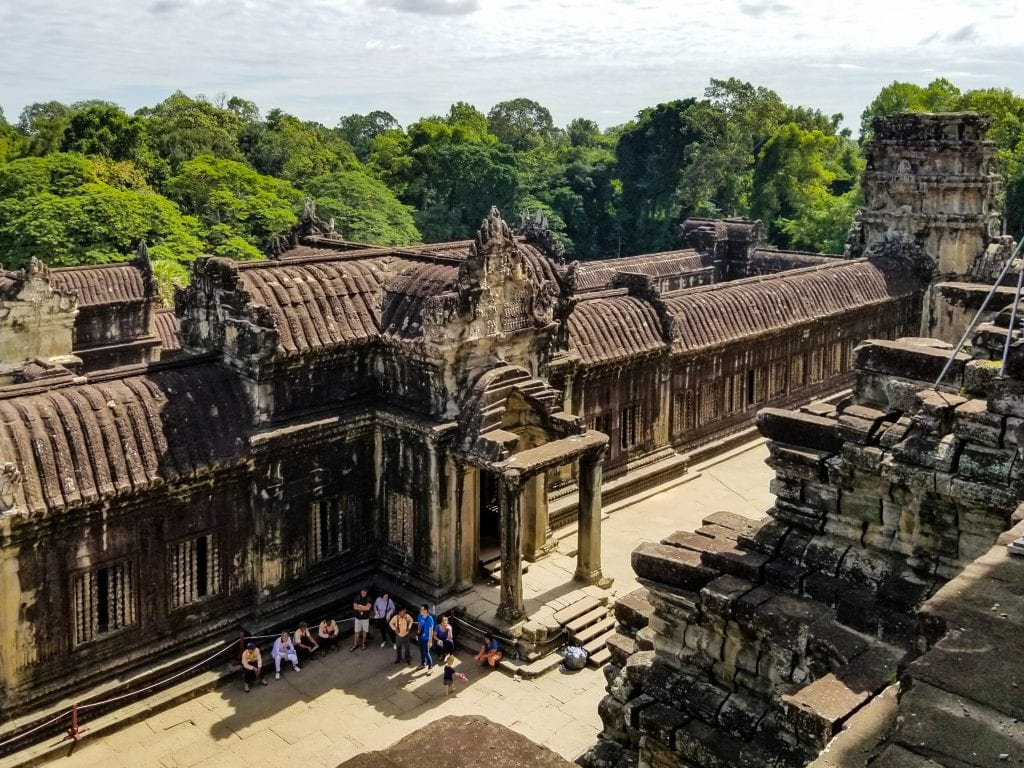 Top View of Angkor Wat