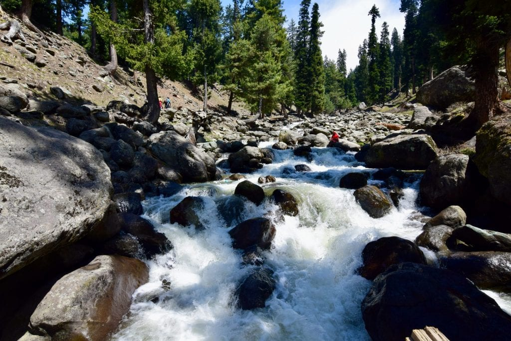 Water Stream in Pahalgam