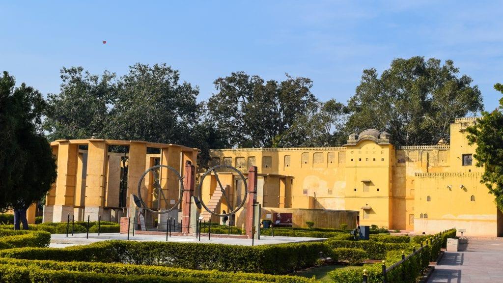 Astronomical instrument in Jantar Mantar, Jaipur