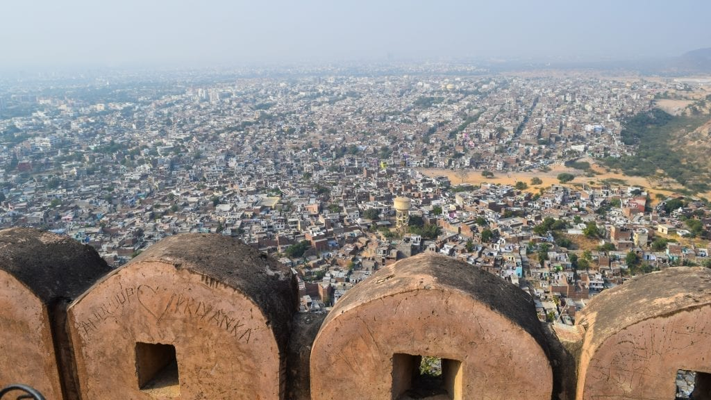 City View from Jaigarh Fort in Jaipur