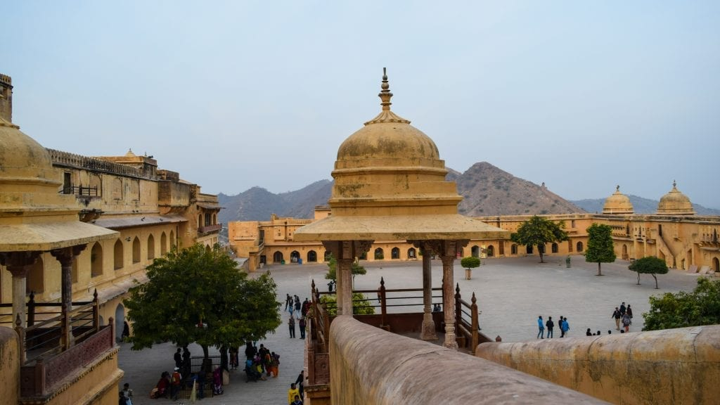 Courtyard of Amer Fort