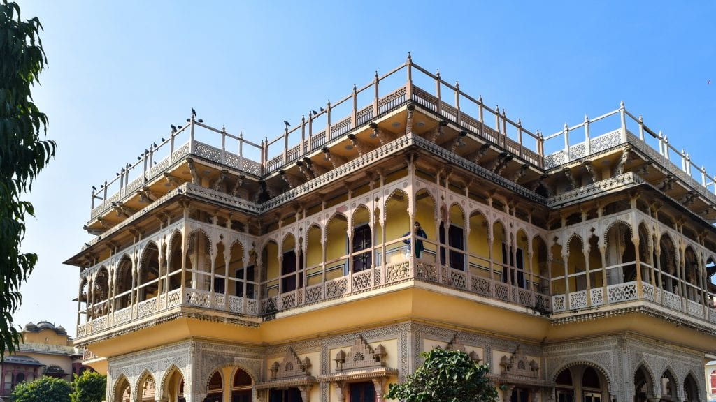 Intricate Jaipur City Palace - Places to visit in Jaipur.