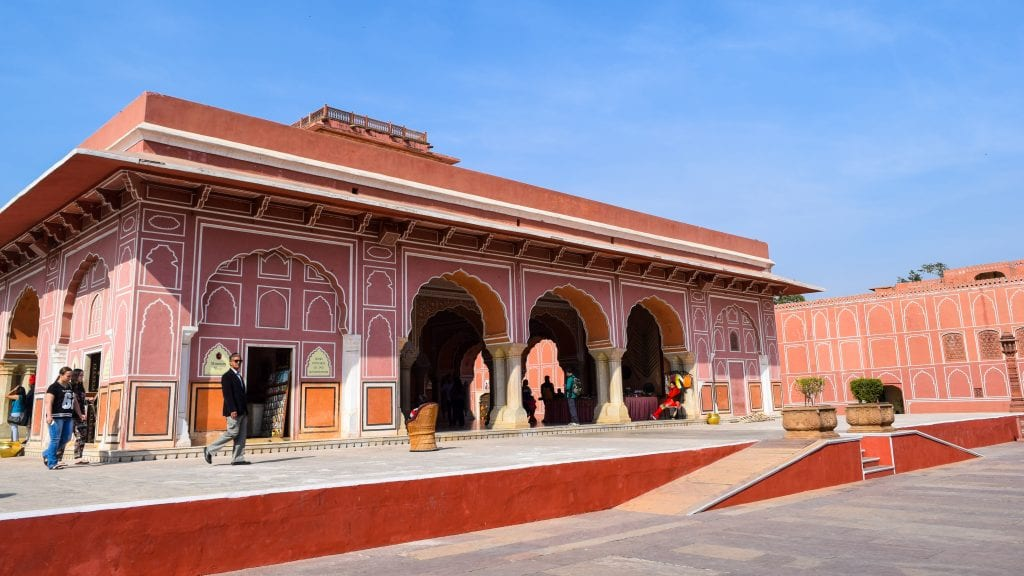 Inside of Jaipur City Palace