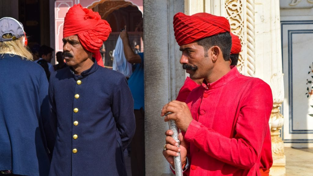 Royal Guards in Rajasthan
