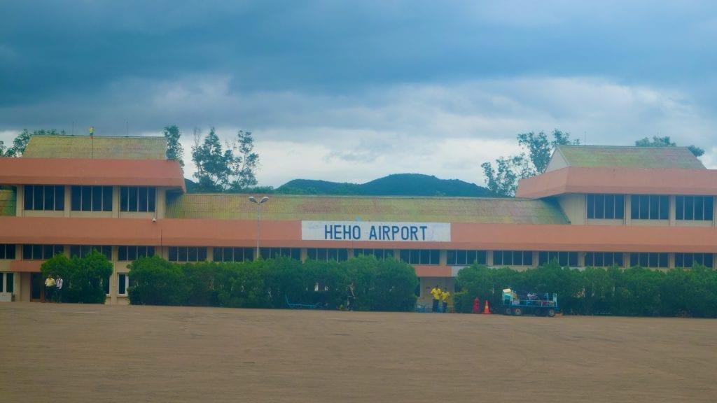 Heho Airport in Myanmar