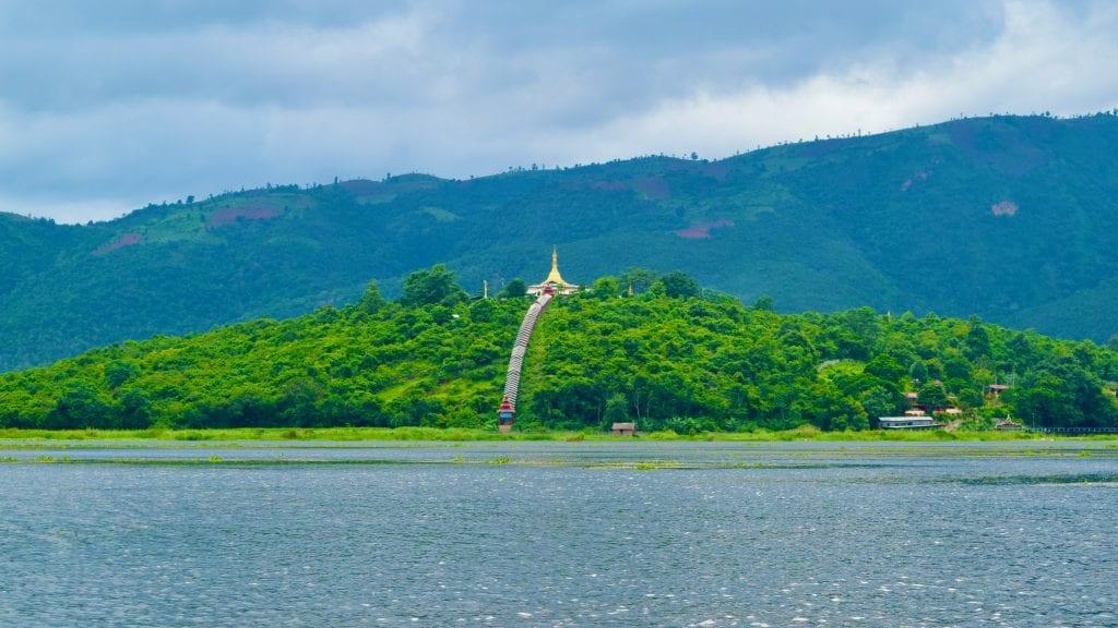 Pagoda near Inle Lake
